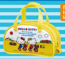 Re-Ment Sanrio Hello Kitty Boston Yellow Comestic Camera Bag