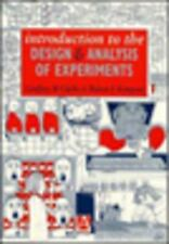 Introduction to the Design and Analysis of  Experiments (Hodder Arnold-ExLibrary