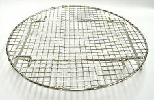 Korean BBQ Round Stainless Steel Steak Fish Cooking Grill Grid Grate 10""