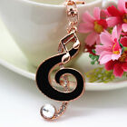 Music Note Key Chains Handbag Buckle Charms Accessories Keyrings YSK15