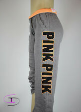 NWT VICTORIA'S SECRET PINK  BOYFRIEND FIT GRAPHIC PANT SMALL ZZ66