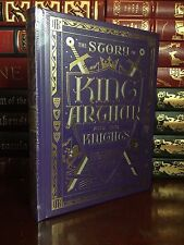 The Story of King Arthur & His Knights Pyle New Sealed Leather Bound Collectible