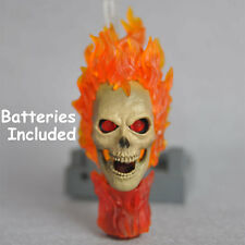 Custom made 1/6 Scale Ghost Rider Head Sculpt Skull Nicolas Cage fit hot toys
