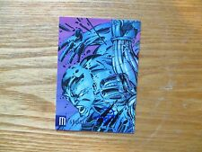 1996 TOP COW CYBER FORCE SUMMER MEGAWATT CARD SIGNED BILLY TAN ART, WITH POA