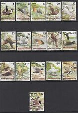 Uccelli: isole Marshall 1999 uccelli Set sg1108-1129 MNH
