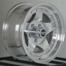 15 inch Wheels Rims Chevy GMC Truck Astro 5 Lug 5x5 5x127 American Racing AR23