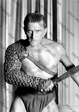 Vintage Photo Print of Famous Hollywood Legend Kirk Douglas A4 Poster Re-print