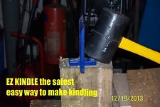 kindling maker splitter ez-kindle the safer cheaper no axe way to make kindling