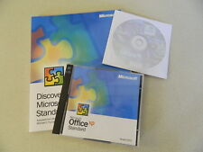 Microsoft Office XP 2002 Standard Upgrade Version 2002