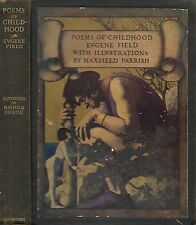 Poems of Childhood Eugene Field. with 5 line manuscript poem laid in.by Field.
