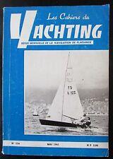 BATEAUX VOILES PLAISANCE CAHIERS DU YACHTING N° 114 de 1961 PLAN DERIVEUR 6 M
