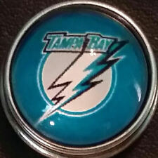Tampa Bay Lightning, style # 1, 18 mm snap button, USA Seller