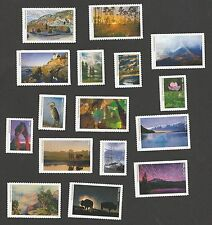 US National Parks forever set MNH 2016
