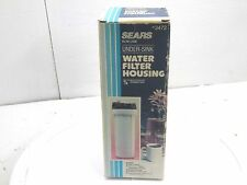 sears under sink Water Filter Housing 3/4 NPT 3472 includes filter