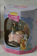 Disney Enesco Lady And The Tramp Motion Ornament (RARE!) In Box - It moves!