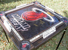 Domino Tables by Art with Miami Heat Logo or any NBA or NFL  team