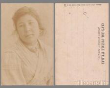 NAPOLI - TIPI NAPOLETANI  - FOTO CAGGIANO 1900- donna