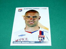 N°218 MARQUES CRIS LYON OL GERLAND PANINI FOOT 2009 FOOTBALL 2008-2009