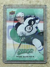 16-17 UD MVP E-Pack Exclusives Green Parallel #181 MARK SCHEIFELE