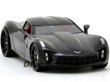 JADA BIG TIME MUSCLE 1:24 2009 CHEVY CORVETTE STINGRAY CONCEPT DIECAST BLACK