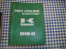 BB 99997-669 catalogo ricambi  KAWASAKI KH400-A3    ediz. 1977