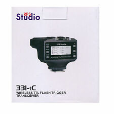 RPS Studio 331TC/C Wireless TTL Flash Trigger Transceiver (for Canon) *NEW*