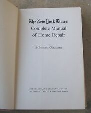 The New York Times, Complete manual of Home Repair,  1968 hardcover