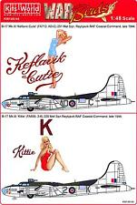 Kits World Decals 1/48 BOEING B-17 FORTRES Mk.III Iceland Coastal Command