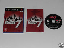 KILLER 7 for PLAYSTATION 2 'VERY RARE & HARD TO FIND'