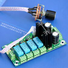 Audio Input Selector Relay Board, With 12V regulator