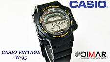 VINTAGE CASIO W-95 QW.945 JAPON TWIN ALARME CHRONO WR.50 AN 1991
