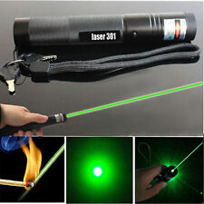 Military Powerful 5mW 532nm Green Laser Pointer Pen Beam Light Burning Lazer USA
