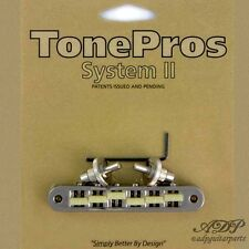 TonePros TP6G-N CHEVALET Nashville Tune-O-Matic Bridge Gformula 66'saddle NICKEL