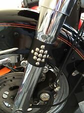 Motorcycle Fork Cover Harley Softail Dyna SportsterTouring or Universal