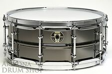 LUDWIG Black Magic Snare Drum 6.5x14 Black Nickel Over Brass (LW6514C)  NEW