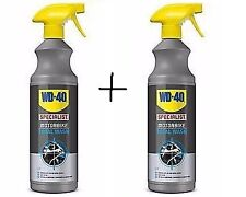 WD40 WD 40 Specialist Motorcycle Motorbike cleaner Total Wash 1Ltr x2 bottles