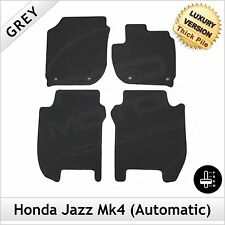 Honda Jazz Automatic Mk4 2015 onwards Tailored LUX 1300g Carpet Floor Mats GREY