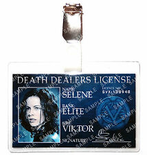 Underworld Selene Death Dealers ID Badge Vampire Cosplay Prop Costume Comic Con