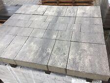 Pflastersteine Steine Grau - Schwarz Anthrazit Mehrere Formate Beton Terrasse