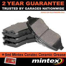 FOR NISSAN ALMERA MK II TINO PRIMERA BREAK HATCHBACK REAR MINTEX BRAKE PADS SET
