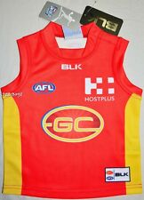 BNWT - Gold Coast Suns 2016 Infants On-Field Home Guernsey - Size: 2 rrp.:$69.99