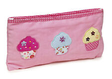 25 x Job Lot Girls Pink Cupcake Pencil Cases Gift Party Bag PC-8104 By Katz