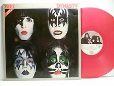 LP,  Kiss, Dynasty, Red Vinyl Germany 1979