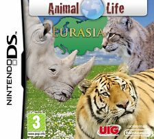 ANIMAL LIFE EURASIA  GAME DS DS DS LITE 3DS 2DS DSI 3DS XL