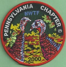 Pa Pennsylvania Game Commission PA Chapter NWTF 2000 ARTIST SIGNED Final Patch