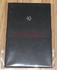 EXO SING FOR YOU SMTOWN COEX Artium SUM OFFICIAL GOODS POSTCARD ACCORDION BOOK