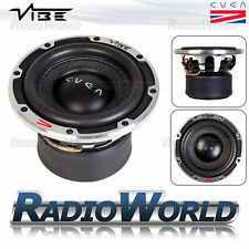 "Vibe cven 6 6.5 ""SUB SUBWOOFER BASS CAR AUDIO 300W 2OHM DUAL BOBINA BASS SQL"