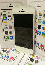 Apple iPhone 5s -16 GB- White & Silver (Unlocked) Smartphone GRADE A + WARRANTY