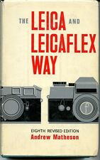 LEICA & LEICAFLEX WAY, 8TH EDITION 1968, MATHESON, NEW 495 PAGE CAMERA BOOKoffer