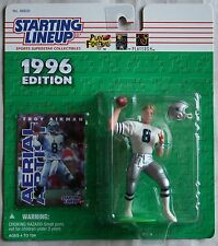 1996 Edition Starting Lineup (8) Different Football Action Figures&(1)Basketball
